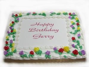 gerrys birthday cake