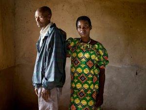 Jean Pierre Karenzi (Perpetrator, Left) Viviane Nyiramana (Survivor, Right)