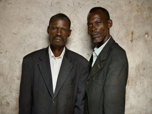 Francois Sinzikiramuka and Christophe Karorera Perpetrator (Left) Survivor (Right)