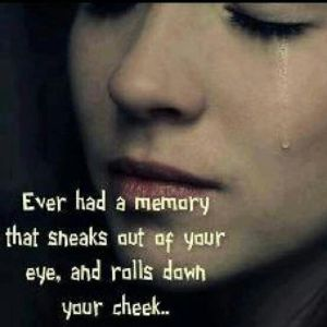 tears and sad