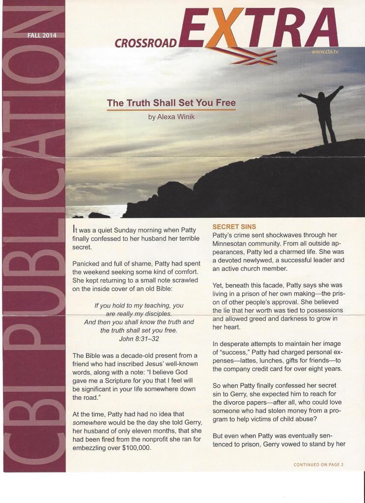 Crossroad Bible Institute Newsetter Feature Article0001