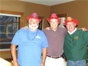 L to R, Mike, Gerry, & Rod