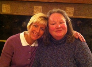 Patty with Donna (Right)